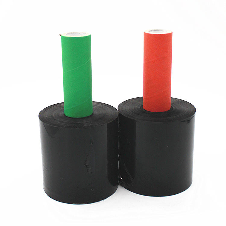 Black-stretch-shrink-LLDPE-packing-wrap-film