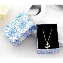Caixa de jóias de pingente de prata decorativa de estilo chinês