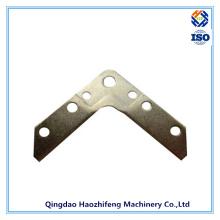 Angle Corner Bracket Made of Galvanized Steel with Powder Coating