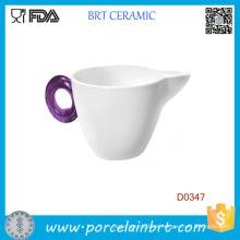Taza de agua de café de té blanco de 330 ml al por mayor