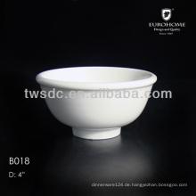 weiße Porzellan Salsa Schalen, Keramik Salsa Schale, Geschirr Salsa Schüssel