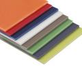 Разноцветные листы G10 для ласты