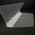Material de la pared Bolas de esquina de PVC con malla de fibra de vidrio