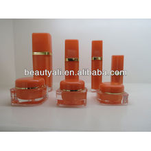 Square acrylic container 60ml 120ml