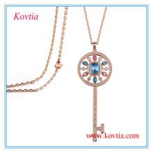 Nouveau collier en jersey de bijoux fantaisie
