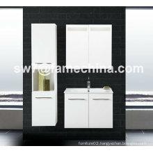 Two Doors High Gloss Wall Mounted MDF Bathroom Cabinet