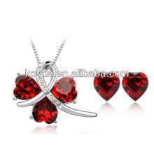 Ensemble de bijoux ruby
