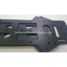 Berufs-3K Twill-Mattkohlenstoff-Faser-Platten, kundengebundene CNC-Ausschnitt-Kohlenstoff-Faser-Blätter, Brummen-Rahmen-Kohlenstoff-Faserblatt