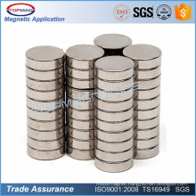 Perforated parylene coating Neodymium Magnet Composite and Industrial Magnet Application Disc Neodymium Magnet