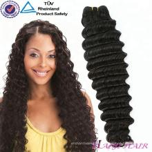 Color natural a granel 100 Porcentaje de extensión del cabello Sin muda No teñido de cabello virgen