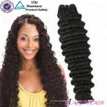 Натуральные цвета оптом 100 процентах наращивание волос никакой линять отсутствие окрашенные необработанные девственные волосы