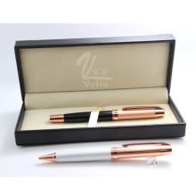 Melhor qualidade presente de lembrança de casamento rosa caneta de ouro