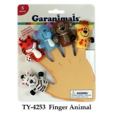 Funny Finger Animal Plastic Toy