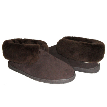 custom women waterproof genuine sheepskin slippers