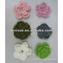 Applique цветок вышивка patch applique работа