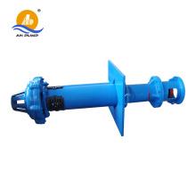 Vertical semi-submerged drainage sump pump
