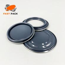 Accessoires de pot de peinture avec revêtement doré ou gris