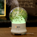 120ml Wood Vase Car Cool Mist Humidifier Diffuser