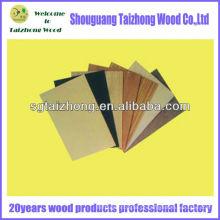 Tipos de madeira Natural madeira folheado fantasia contraplacado