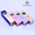 New design ivory board modern cosmetic packaging