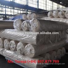 Tejido gris - 100% algodón cardado / 108 * 58 CD20 * CD20