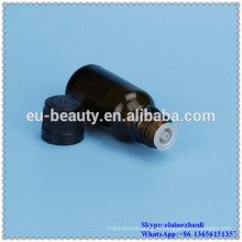 10ml brown glass dropper bottle with PE insert