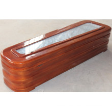 High Quality Coffin with Glass for Promotion (limited)