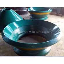 Manganese Steel Cone Crusher Parts for Mining Industry