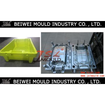 Molde de caixa de peixe de plástico de qualidade superior personalizado
