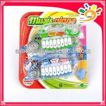 Tier transparent Kunststoff Spielzeug Tastatur Instrument Mini Kinder Spielzeug Kunststoff Musikinstrumente