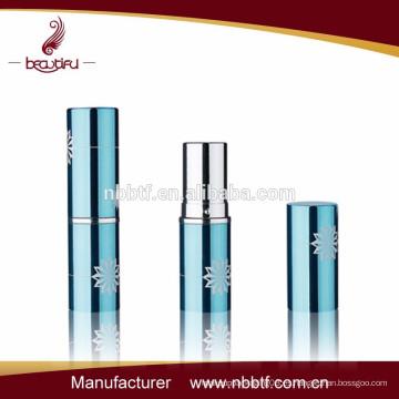 Nuevo diseño vacío aluminio lápiz labial de embalaje