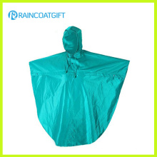 Water Resistance Polyester PU Rain Poncho Rpy-066