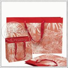 Цветочный дизайн бумажный мешок для подарка Scrafts (кг-PB039)