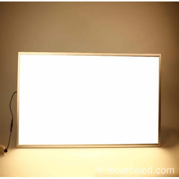 rectangle AC 220v 25w led plafonnier moderne
