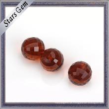 Big Size Vários Color Checker Cut Glass Ball