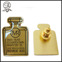 Luxury Medical bottle shape brass pin