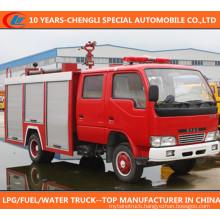4X2 Dongfeng Water Foam Fire Fighting Truck