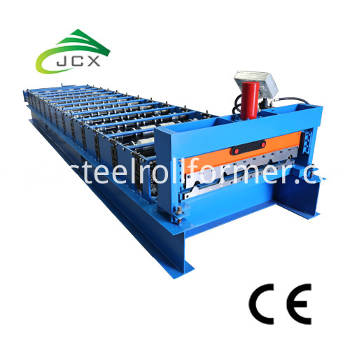 Roof Sheeting Machine