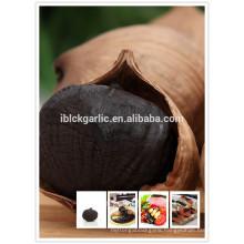 Delicious naturally organic solo black garlic in organic vegetables