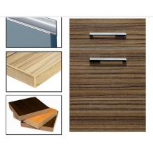 Laminat Woodgrain MDF Schrank Türen mit Kantenband (zhuv)