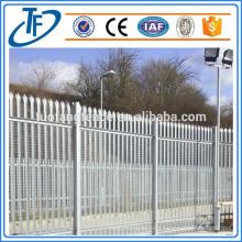 Clôture électrique en acier galvanisé à palisade fabriqué à Anping (produits en Chine)