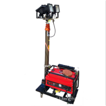 Trolley Mobile Light Tower z generatorem Diesel