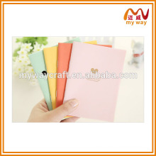 Candy color series notebook, full color printing notebook