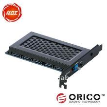 5Bay PCI-E Cartão interno HDD Raid Express, cartão PCI-E Express, cartão de ataque,