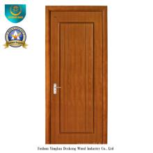 Porte Design HDF moderne pour chambre avec couleur marron (ds-081)