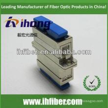 SC duplex singlemode fiber optic adapter,Metal housing