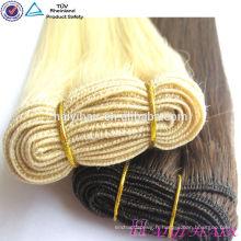 Top Qualité Double aube 100% Remy Cheveux Extention Blonde Russe Cheveux