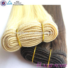 Top Quality Double dawn 100% Remy Hair Extention Blonde Russian Hair