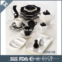 Популярные обеденные столы из фарфора с фарфоровой посудой в Гуанчжоу