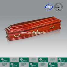 Italian Style Wooden&Metal Coffins&Caskets Provide Top-Quality